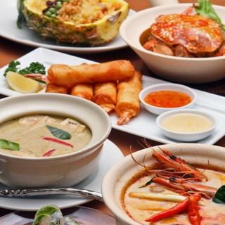 日本風にアレンジしたタイ料理が美味!