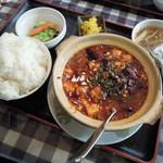 23232041 - ランチのオリジナル麻婆豆腐(ライス大盛)