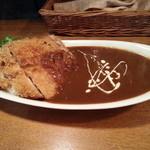 Mar's Cafe - チキンカツカレー(850円)です。2013年11月