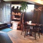 Mar's Cafe - 店内です(2013年11月)。