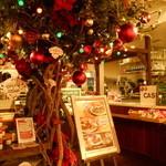 J.S. BURGERS CAFE - 店内入口