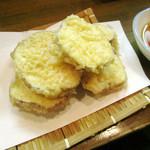 山口大亭  - さつま芋天ぷら 480円【2013.12月】