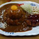 太養軒 - ジャンボメンチカツカレー530円ご飯大盛り+50円