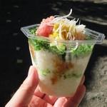 粋魚 - プチばくだん丼¥380