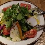 カスターニエ 軽井沢ローストチキン - カップルランチ 高原野菜サラダ