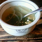 小さな厨房 - ランチスープ
