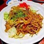 えんざ - 焼きそば(〆で食べると物凄いカロリーって知っている?)