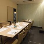 博多 竹彩 - テーブル席
