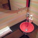 魔法のパスタ - 可愛いデザインのトイレ