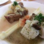 洋食工房 パパの台所 - 料理写真:お肉、お魚の盛り合わせメイン