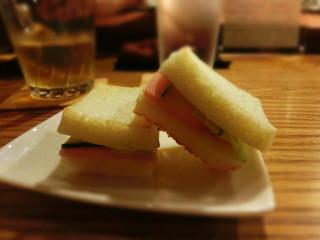 Bar Sasha - ●いつ食べてお美味しいホットサンドだよ~