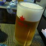 宝生寿し - 生ビール♪
