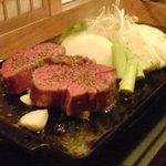 三隈 - 小倉牛のサイコロステーキ