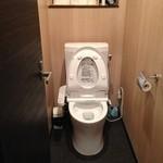 山ちゃん - 綺麗になったおトイレがうれしい