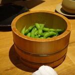 個室・炉端料理 かこいや - 枝豆