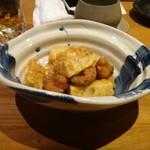 個室・炉端料理 かこいや - タコと長芋の唐揚げ