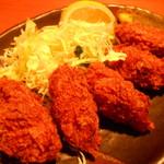 土風炉 - 牡蠣フライ