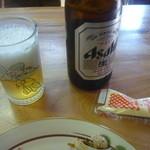 お好み焼みよし - ビール