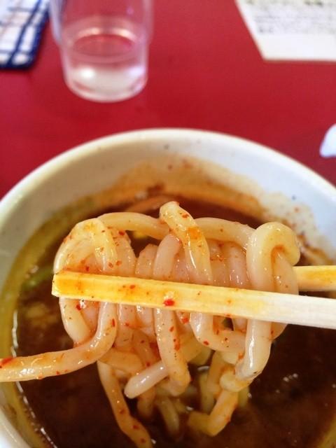 つけ麵 魚雷 坪井本店 - つけ麺の麺