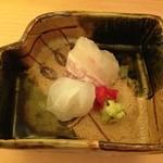 鮨 みつ川 - 刺身盛り合わせ