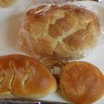 ノルトエッセン - 買い求めたパン。