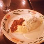 ピノ - ●冬限定セットメニュー・1050円・洋食一品選択・ダブルソースオムライス