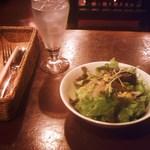 ピノ - 冬のセットメニュー・1050円・サラダ