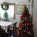 ラ・ロゼット - 12月 クリスマスな店内♪