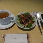 23244597 - サラダ、スープ