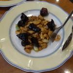 天鳳 - 鶏肉の唐辛子炒め