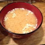 IKR51with五拾壱製麺 - しじみ汁(サービス)