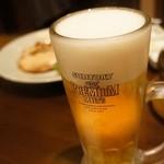Kageyama - とりあえずビールは外せませんね。