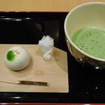間瀬 - お抹茶(季節のお菓子付)