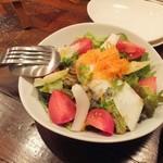 ラトリエ・ドゥ・ヴィーブル - 有機野菜の南仏風サラダ
