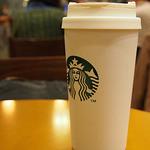 スターバックス・コーヒー - タンブラーは持参で。