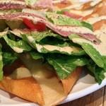 ジェラートピケ カフェ - プロシュートと季節野菜のサレ