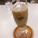喫茶室ルノアール - アイス黒蜜カフェ・オーレ(770円)