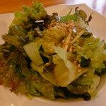 創作薬膳 TURU菊 - オムライスのサラダ