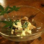 閏日 - 柿と豆腐のサラダ