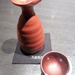 町衆料理 京もん - 伏見招徳酒造 本醸造 壱の酒600円 温感で