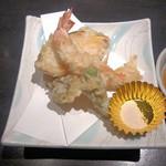 町衆料理 京もん - おまかせコース 和 やわらぎの天ぷら盛り合わせ