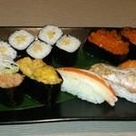 23251795 - お寿司一貫から選べます