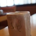うな明 - 最初のお茶