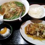 品味酒家 - 料理写真:油淋鶏定食