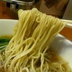 まるきんラーメン - 支那そば麺リフト