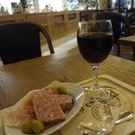 ル サラディエ - ハッピーアワー♪ グラス赤ワイン、パテドカンパーニュ&生ハム