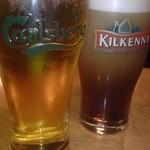 Dublinbay - カールスバーグとキルケニー♪