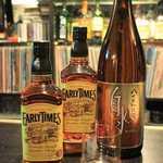 ROCKHOUSE70 - メインボトルは、「アーリータイムス」と「白水」。