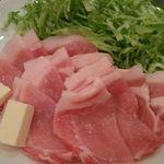 粋幸庵 - 豚肉焼き
