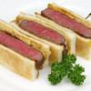 サンドウィッチファクトリー - 料理写真:黒毛和牛!『黒毛和牛フィレステーキサンド』